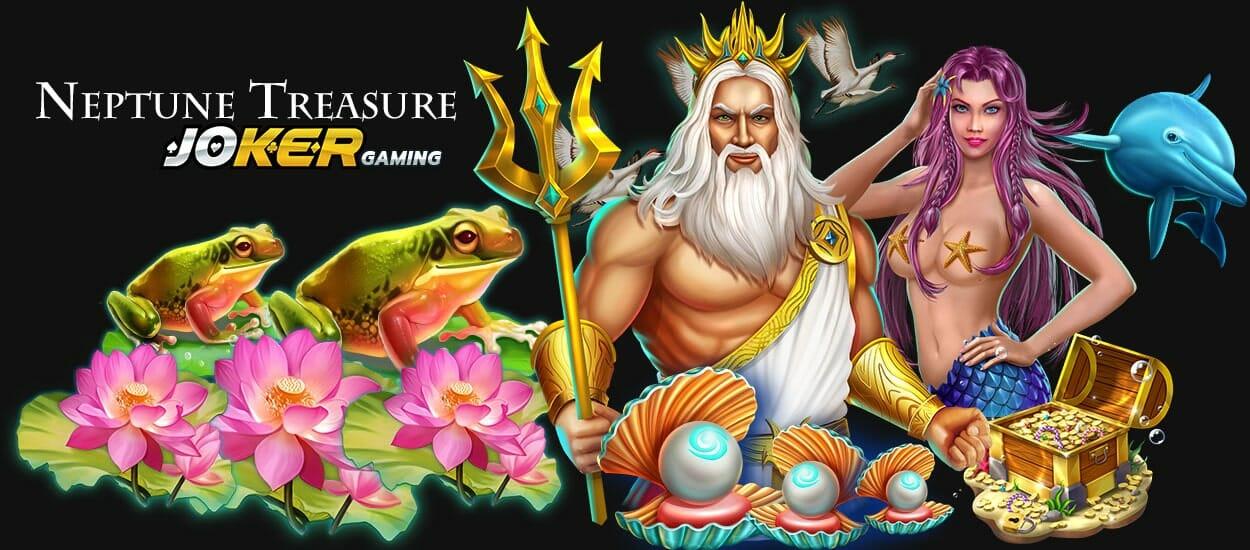Slot joker Neptune Treasure