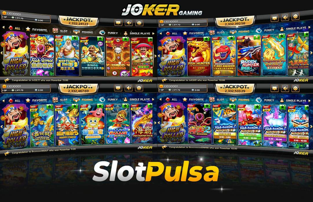 Joker Slot Online Deposit Pulsa