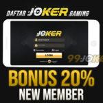Daftar Slot Joker123 Dengan Bonus