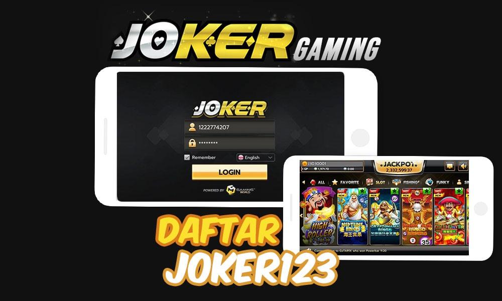 daftar joker123 slot