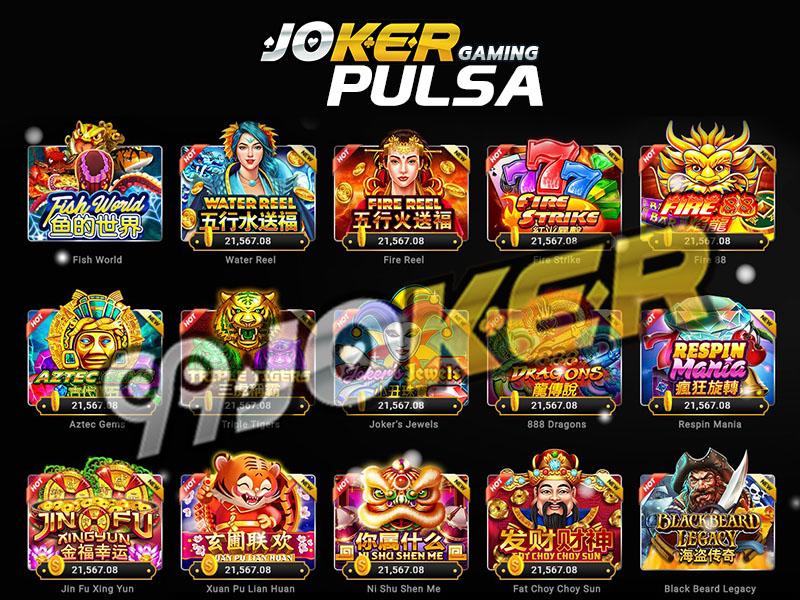 Situs Joker 123 Online Depo Pulsa